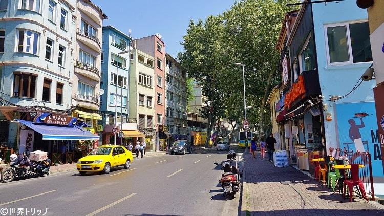 チュラーン通り(Çırağan Caddesi)