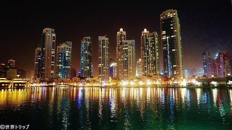 ドバイ・ファウンテン(The Dubai Fountain)