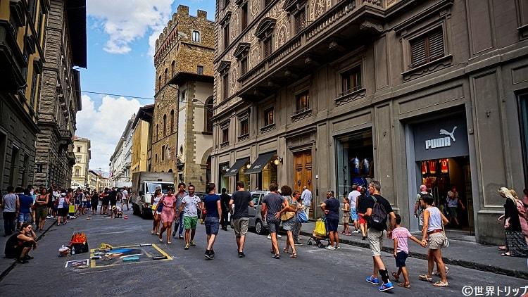 カリマラ通り(Via Calimala)