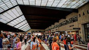 フィレンツェ・サンタ・マリア・ノヴェッラ駅の構内