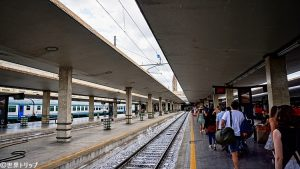 フィレンツェ・サンタ・マリア・ノヴェッラ駅のホーム