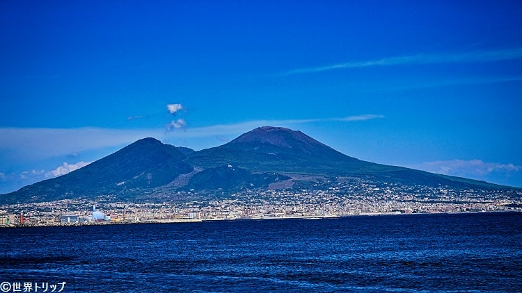 ヴェスヴィオ山(Il Monte Vesuvio)