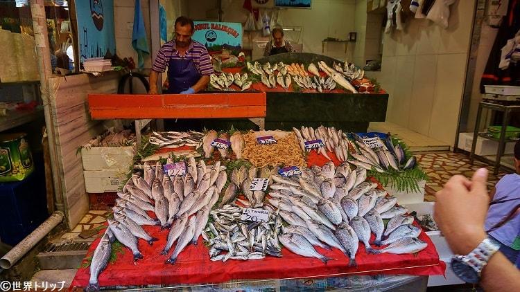 イスタンブールの魚屋さん