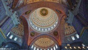イェニ・モスクの天井装飾