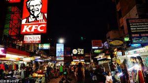 カオサン通り(Khao San Road)