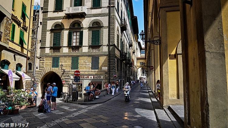 アルキブジエリ通り(Lungarno degli Archibusieri)