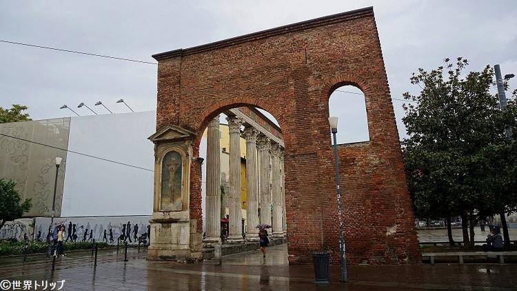 サン・ロレンツォの列柱(Colonne di San Lorenzo)