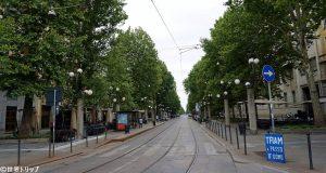 センピオーネ通り(Corso Sempione)