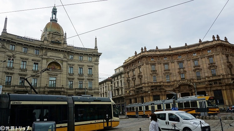 コルドゥジオ広場(Piazza Cordusio)