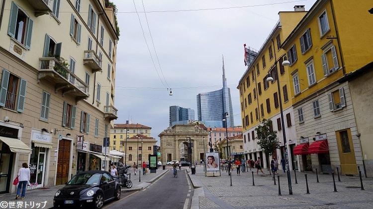 ガリバルディ門(Porta Garibaldi)