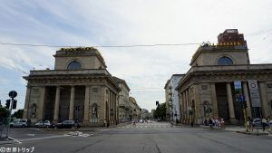 ベネチア門(Porta Venezia)