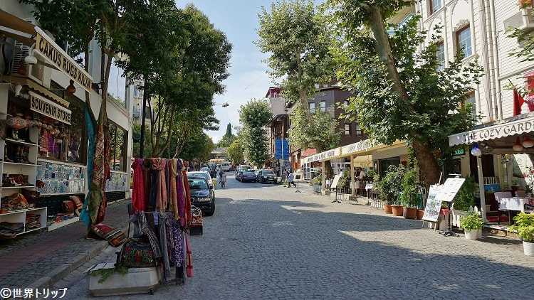 ミマール・メフメットアー通り(Mimar Mehmet Ağa Caddesi)