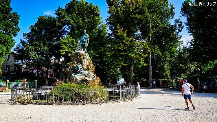 ジュゼッペ・ガリバルディ像