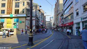 Muradiye Caddesi(Sirkeci駅付近)