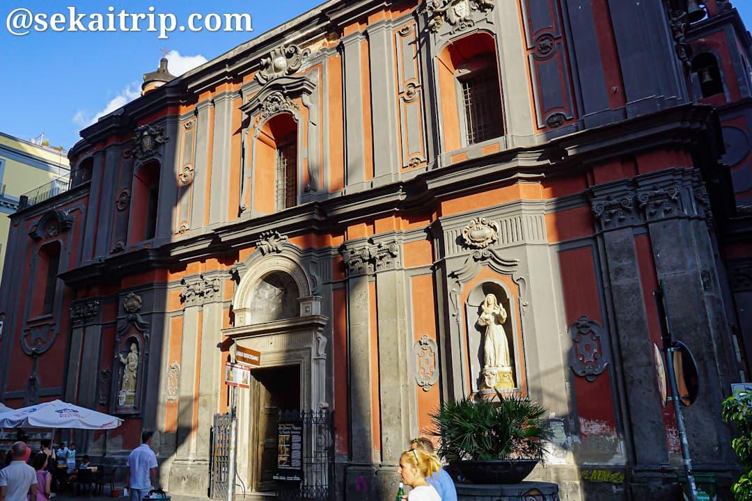 サンタンジェロ・ア・ニーロ聖堂(Chiesa di Sant'Angelo a Nilo)