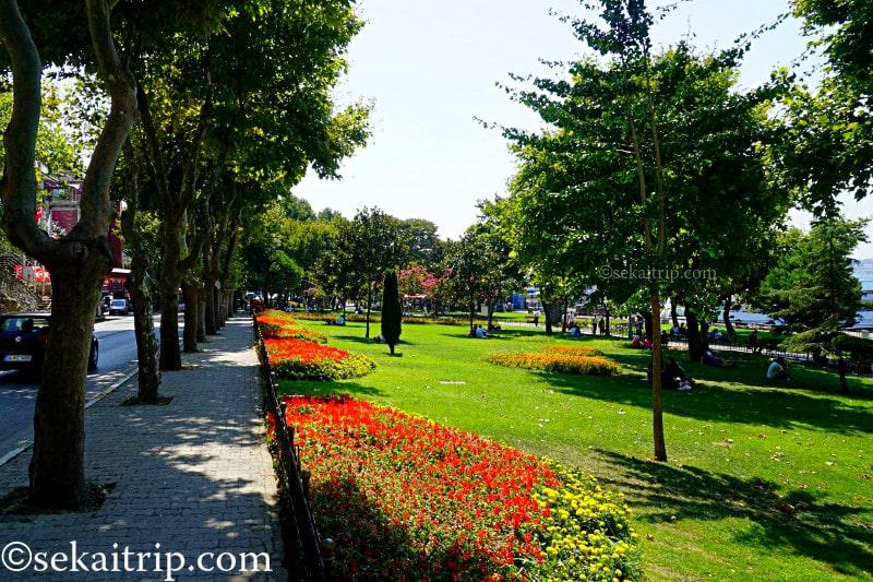 パシャ・リマヌ通り(Paşa Limanı Caddesi)