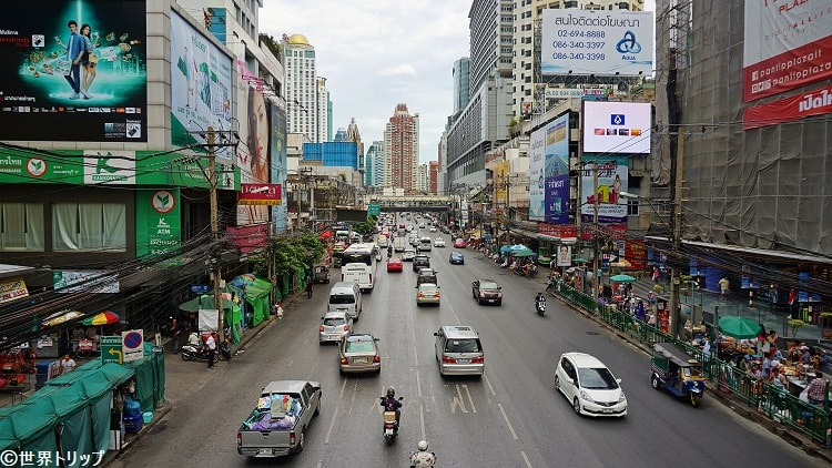 ペッチャブリー通り(Phetchaburi Road)