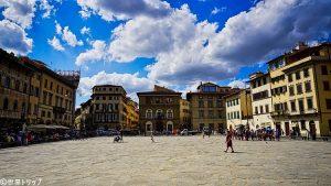 サンタ・クローチェ広場(Piazza di Santa Croce)