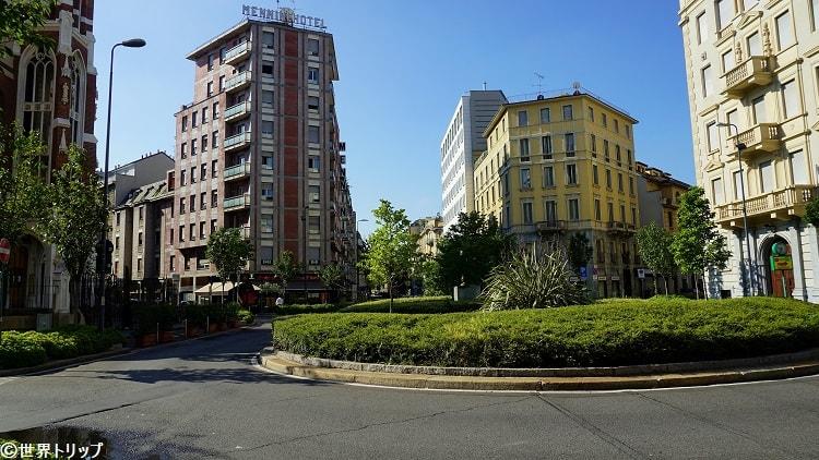 サン・カミッロ・デ・レリス広場(Piazza San Camillo de Lellis)