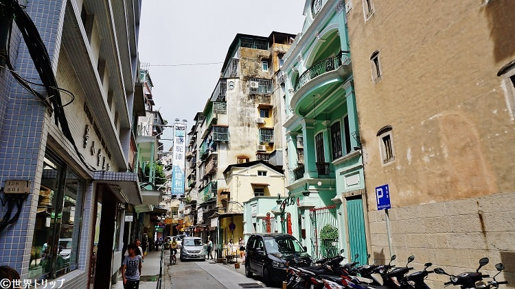 庇山耶街(Rua de Camilo Pessanha)