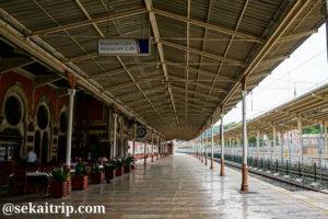 スィルケジ(Sirkeci)駅のホーム