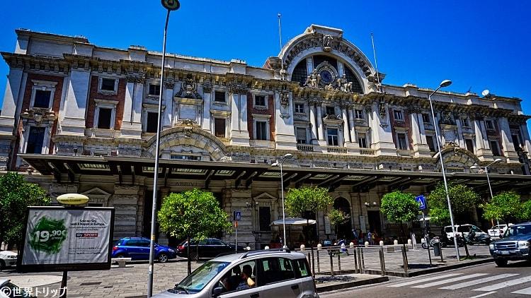 ナポリ・メルジェリーナ駅(Stazione di Napoli Mergellina)