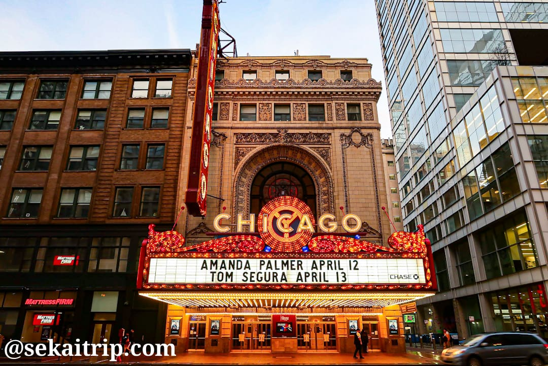 シカゴ・シアター(The Chicago Theatre)