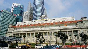 5つ星ホテル「ザ・フラトン・ホテル・シンガポール」
