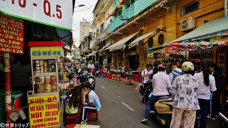 Trần Hưng Đạoから伸びる通り