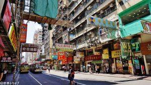 通菜街(Tung Choi Street)