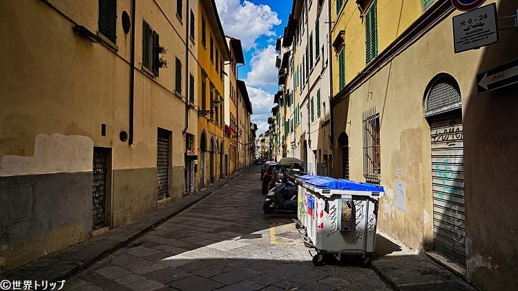 マッチ通り(Via dei Macci)