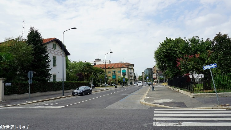 ジャコモ・カリッシミ通り(Via Giacomo Carissimi)