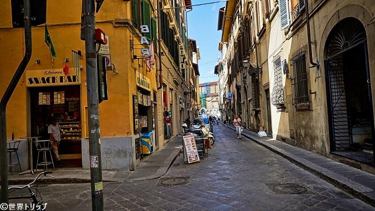 サンタントニーノ通り(Via Sant'Antonino)
