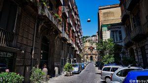サンタ・マリア・イン・ポルティコ通り(Via Santa Maria in Portico)