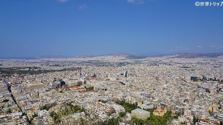 リカヴィトスの丘からの景色