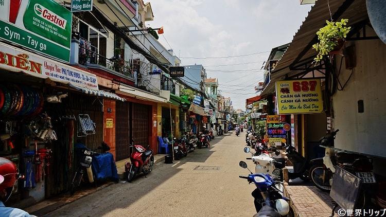 Xô Viết Nghệ Tĩnhから伸びる路地