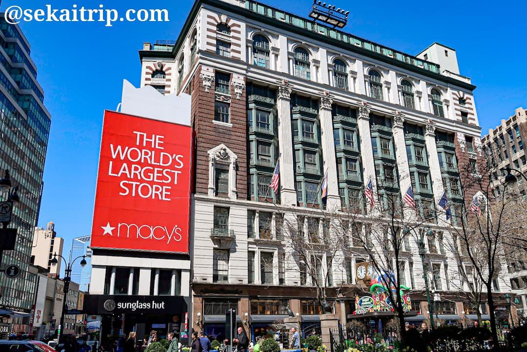 ニューヨークのメイシーズ本店