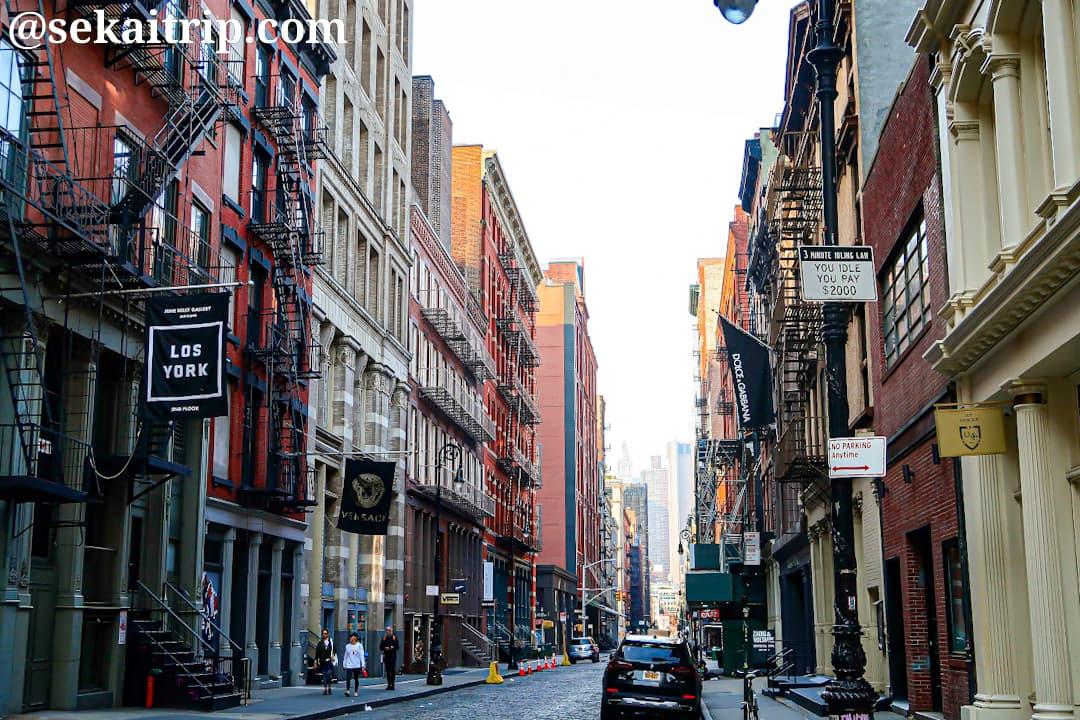 【ブランド】ニューヨークの買い物スポットチェック!五番街、ソーホーなど