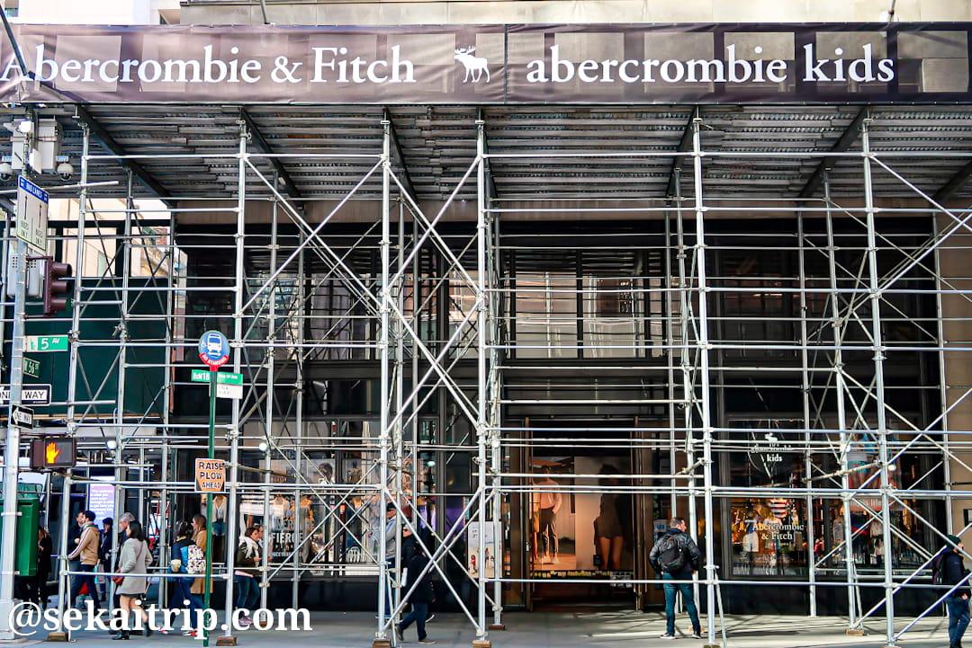 アバクロンビー&フィッチ(Abercrombie & Fitch)の本店