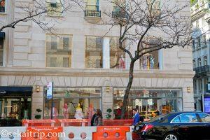 キャロライナ・ヘレラのニューヨーク店