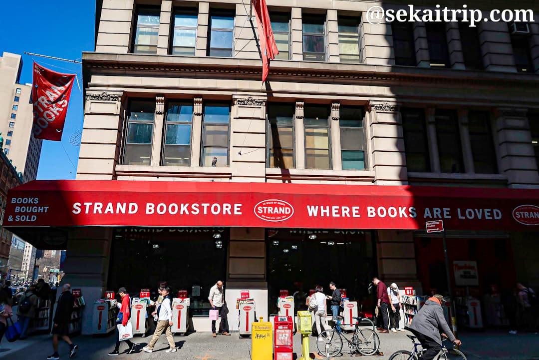 ニューヨークのストランド・ブックストア(Strand Book Store)