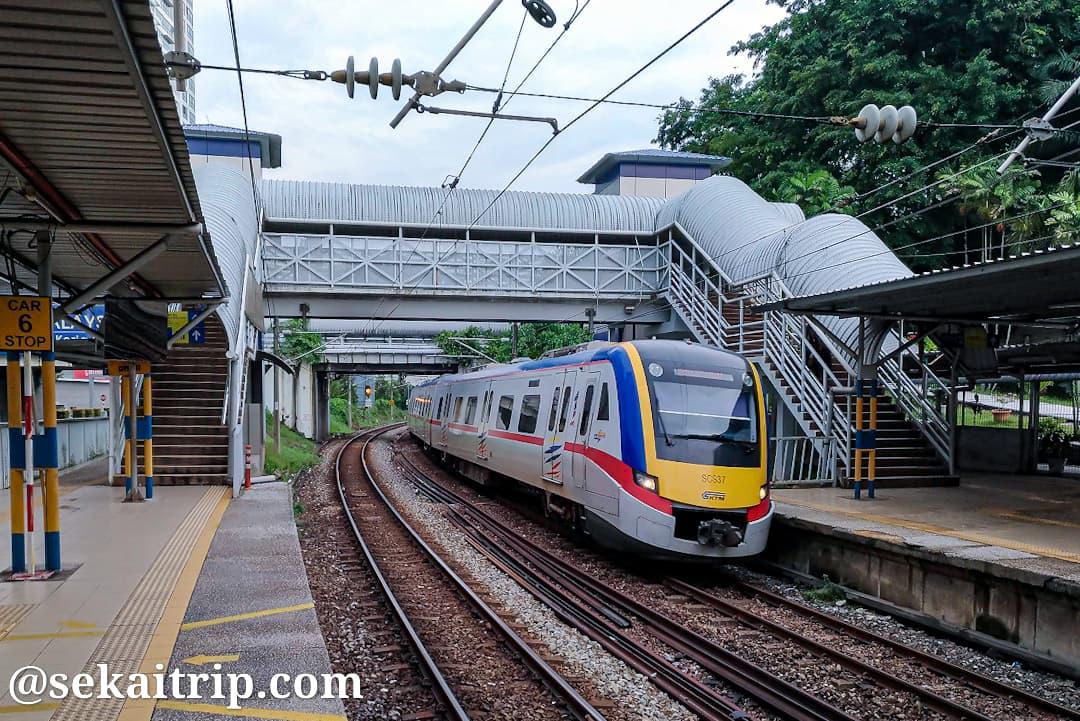 クアラルンプールのプトラ駅