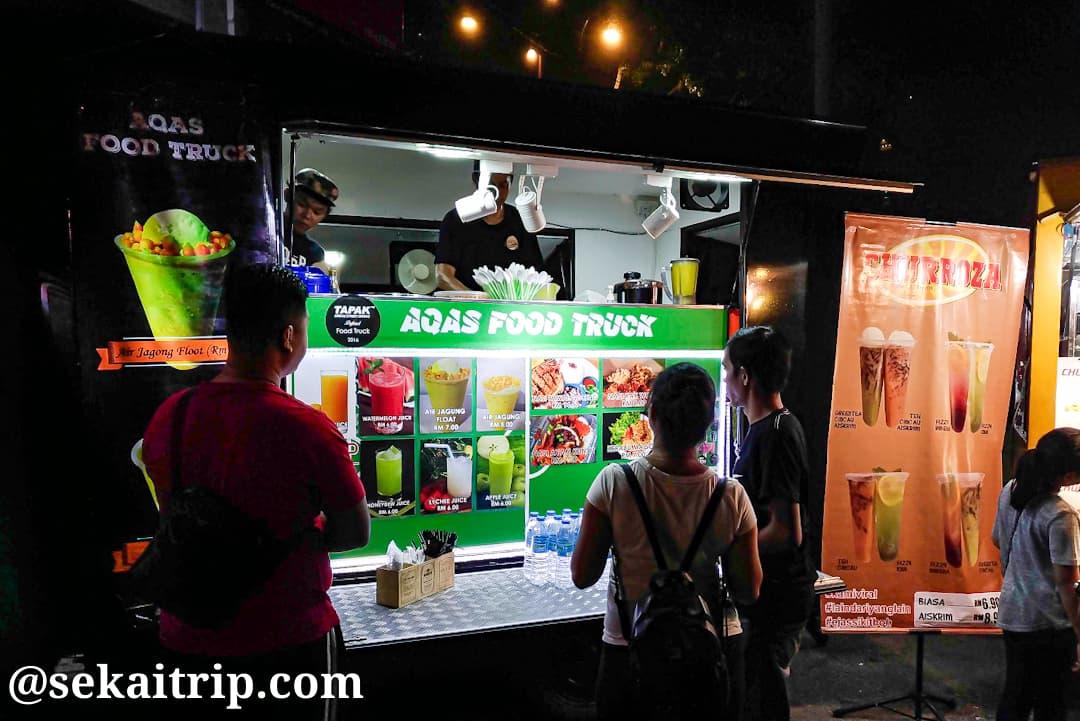 タパック・アーバン・ストリート・ダイニングのAqas Food Truck