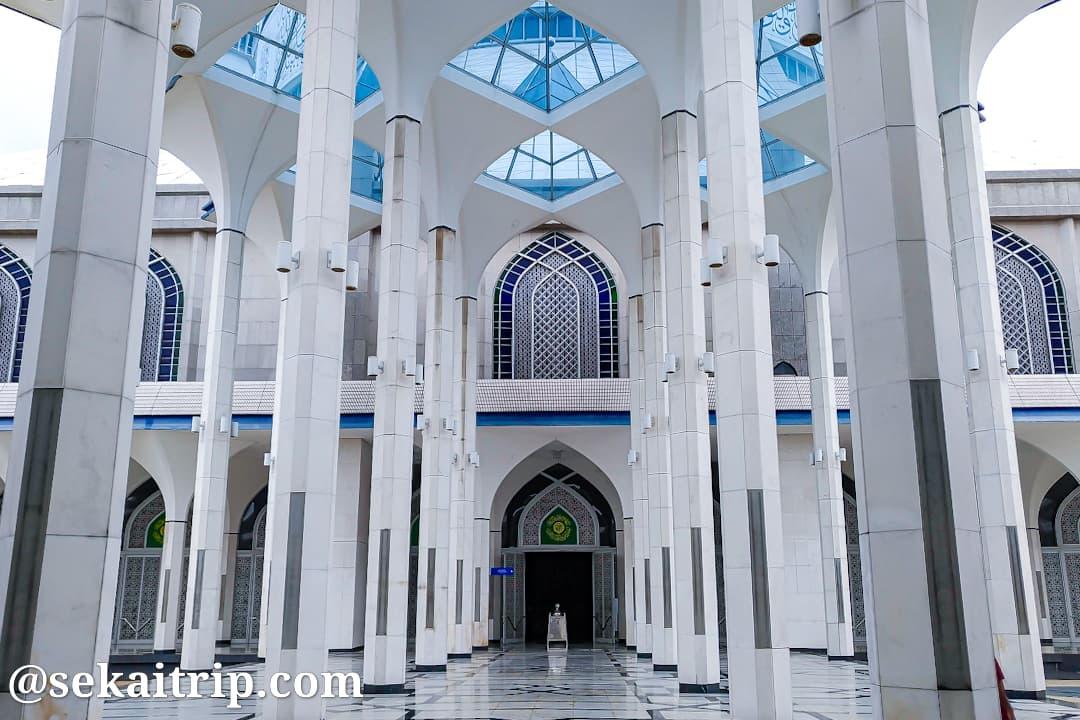 クアラルンプール近郊にあるブルーモスク