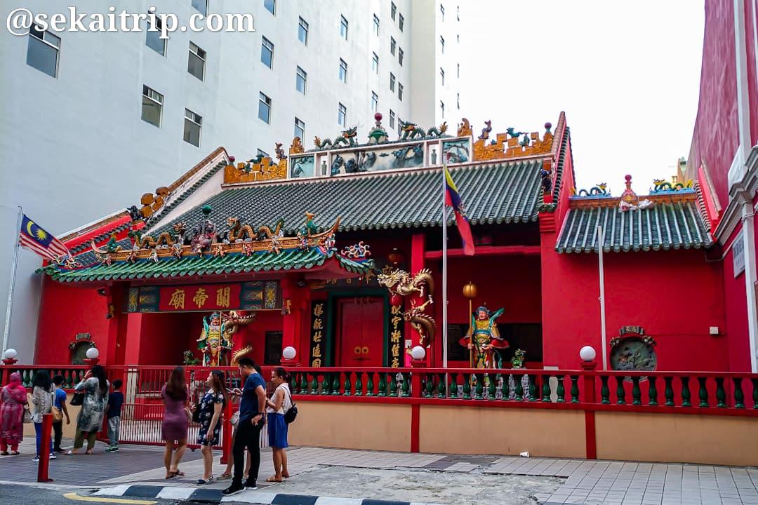クアラルンプールの關帝廟(GuanDi Temple)
