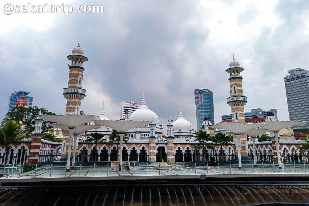 クアラルンプールの旧モスク(Masjid Jamek)
