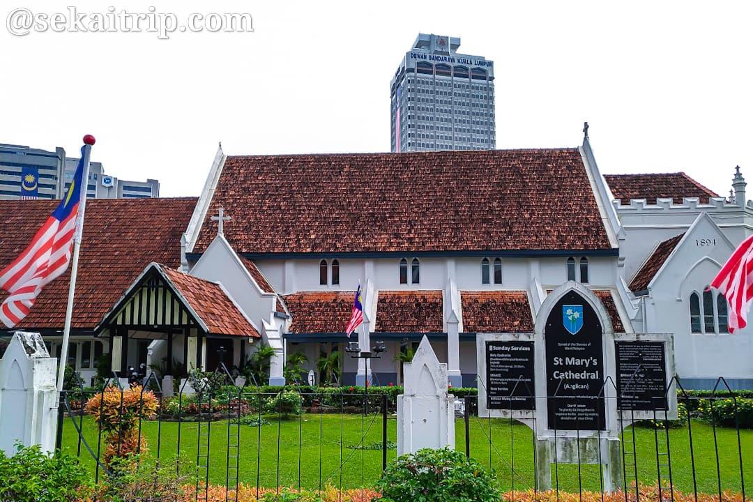 クアラルンプールのセント・マリー聖堂(St Mary's Cathedral)