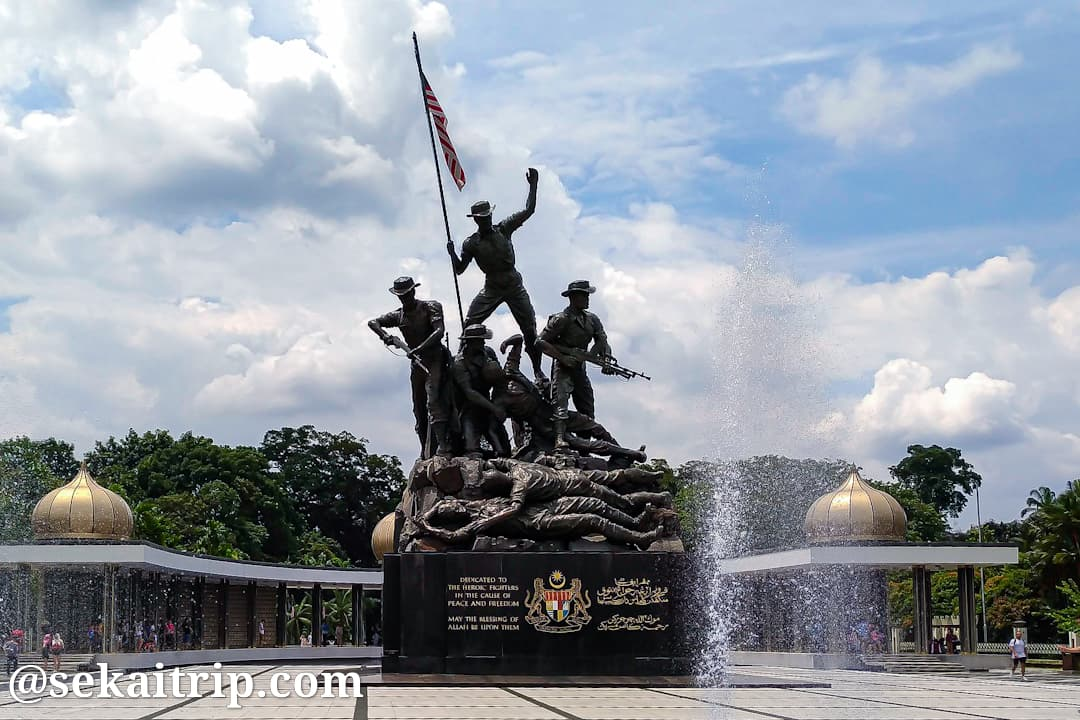 クアラルンプールの国家記念碑(Tugu Negara)