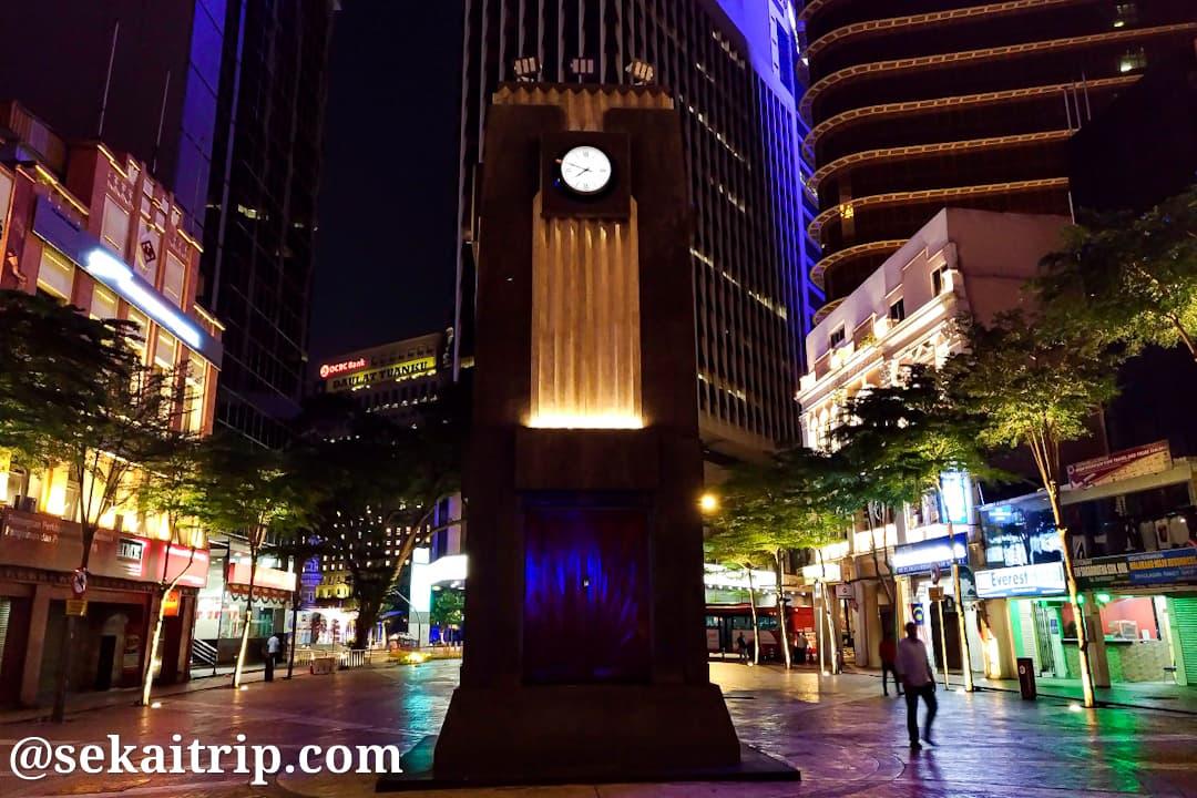 メダン・パサール・クロック・タワー(Medan Pasar Clock Tower)