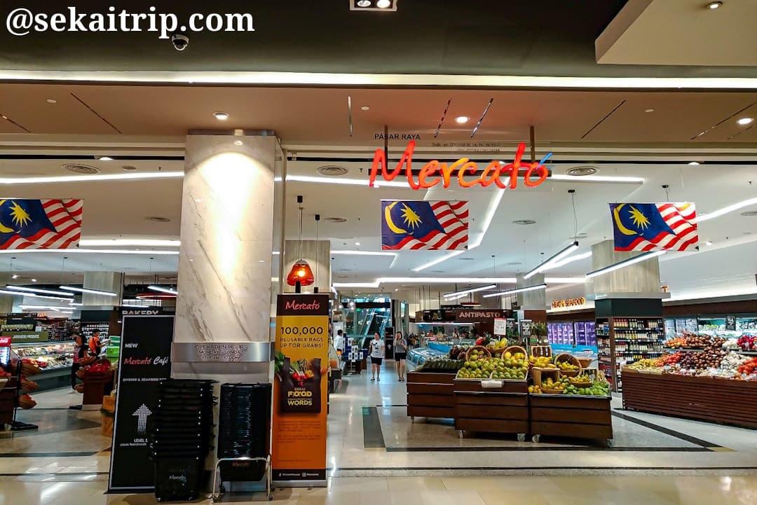 パビリオン・クアラルンプールのスーパーマーケット